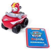 Paw Patrol Rescue Racer Marshall Seapatrol Red Vehicle