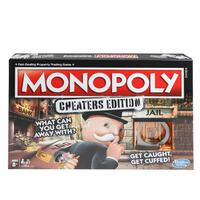 Hasbro Games Monopoly Cheaters Edition Board Game