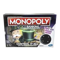 Hasbro Game Monopoly Voice Banking Board Game