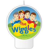 The Wiggles Birthday Candle