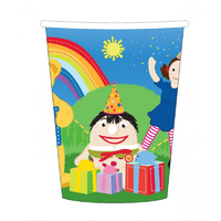 ABC Kids Play School 266ml Cups 8 Pack