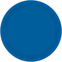 Paper Plates Round 20cm Blue 8 Pack