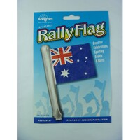 Australian Rally Flag Helium Foil Balloon