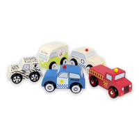 Discoveroo: Emergency Car (set of 5)