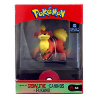 Pokemon Select Collection Growlithe Figure in Case 5cm