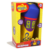 The Wiggles Soft Plush Microphone Toy with sound