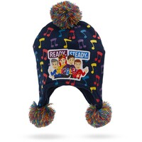 The Wiggles Ready Steady Wiggle Kids Beanie Navy