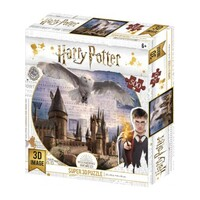 Harry Potter Hogwarts And Hedwig - Super 3D 300pc