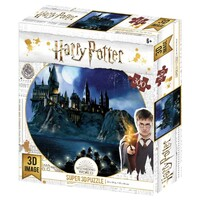 Super 3D 300pc - Harry Potter Hogwarts