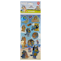 Bluey Puffy Sticker Sheets 3 Pack