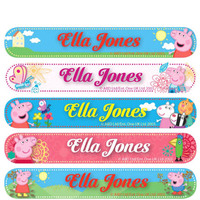 60 Peppa Pig Slimline Character Labels Pack