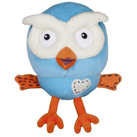 ABC Kids Giggle and Hoot Beanie Plush 20cm