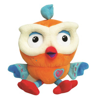 ABC Kids Giggle and Hoot Hootly Beanie Plush 20cm