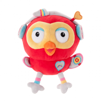 ABC Kids Giggle and Hoot Hootagadget Beanie Plush 20cm