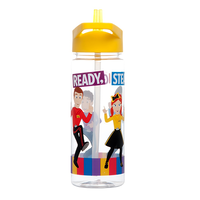The Wiggles Drink Bottle Yellow Ready, Steady, Wiggle! 550ml