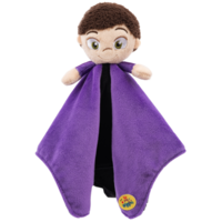 The Little Wiggles Lachy Comfort Blanket Purple