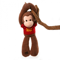Curious George Take Along Touch & Close Soft Toy 45cm