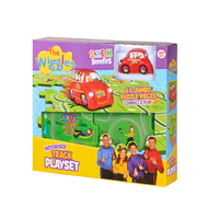 The Wiggles Motorised Puzzle Track Playset with Big Red Car