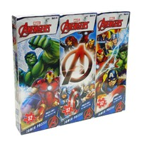 Marvel Avengers 3 in 1 Tower Puzzle Pack 52 piece