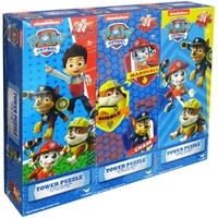 Paw Patrol 3 in 1 Tower Puzzle Pack 24 piece