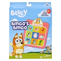 Bluey Bingo's Bingo Card Game