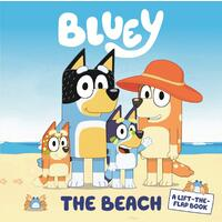 Bluey The Beach, A Lift the Flap Book