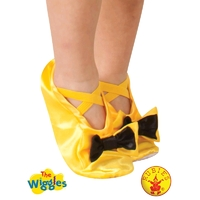 The Wiggles Emma Yellow Costume Slippers