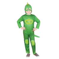 PJ Masks Gekko Glow in the Dark Costume Green Child Size 3-5