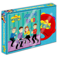 The Wiggles Book and Tambourine Set