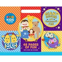 ABC Kids: Giant Sticker Activity Pad Book
