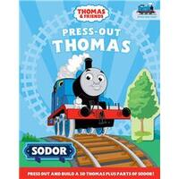 Thomas & Friends: Press out and Build Activity Book
