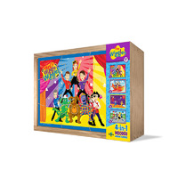 The Wiggles 4 in 1 Wooden Puzzle