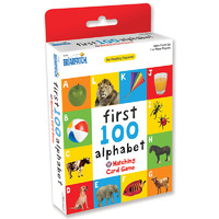First 100 Alphabet Matching Card Game