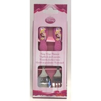 Disney Princess 2pc Stainless Steel Cutlery 3 Princesses